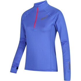 inov-8 Train Elite Mid LS Zip Top Women blue